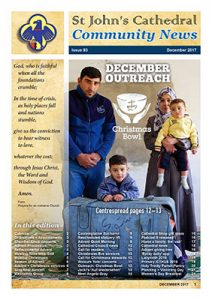 Image - front cover of December 2017 Community News